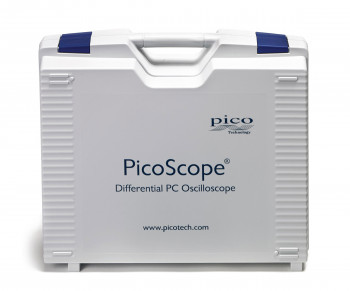 Front view of PicoScope 4444 carry case showing logo and PicoScope brand.