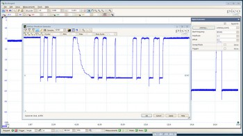 PicoScope AWG waveform editor