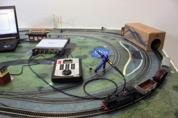 PicoScope 5000 Series with Hornby DCC Select Controller and Somerset Belle Train Set