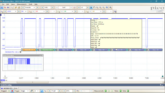 Modbus serial decoding: Part 2
