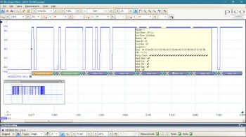 Modbus decoder in PicoScope 6