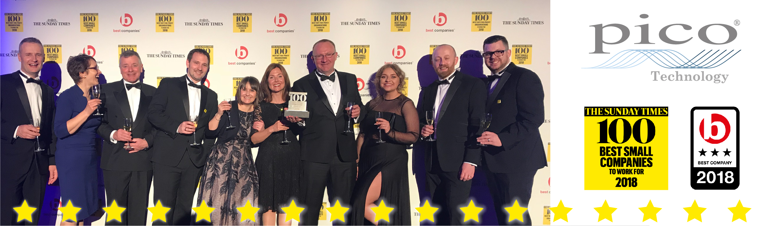 Sunday Times 100 Best Companies to Work For 2018