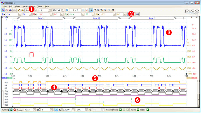 USB 3 0 mixed signal oscilloscopes  4 channels + 16 channel