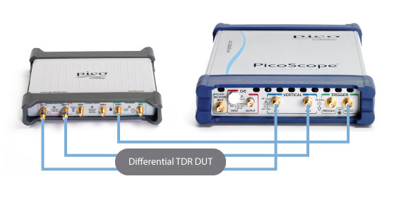 TDT applications with a PicoScope 9300 Sampling Oscilloscope