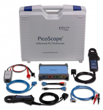 High voltage oscilloscope kit