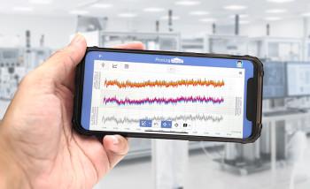 Picolog Cloud on Smartphone