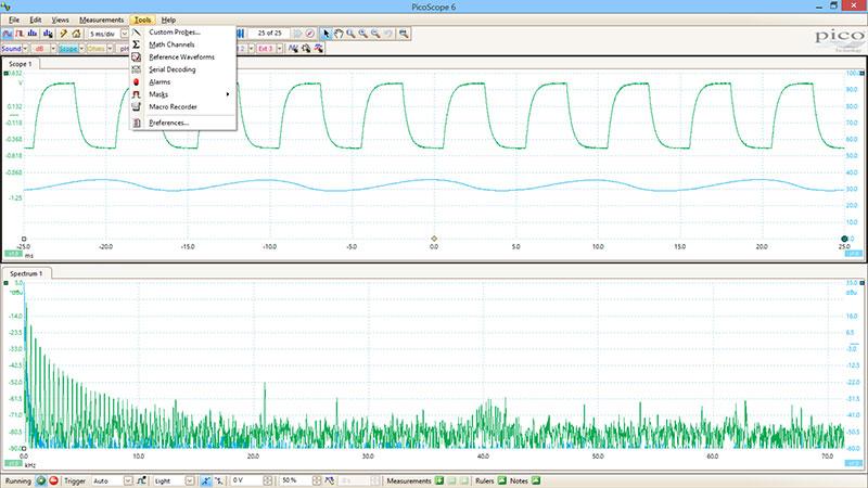 DrDAQ data logger, oscilloscope, pH logger and more!