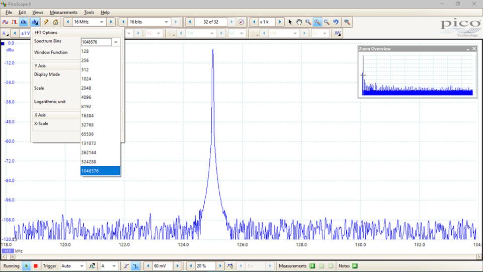 PicoScope 5000 flexible resolution oscilloscope