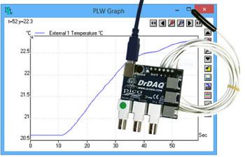 DrDAQ temperature sensor