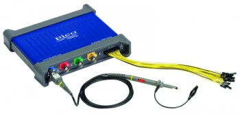PicoScope 3000D Series Mixed Signal Oscilloscope with 4 analog and 16 digital input channels.