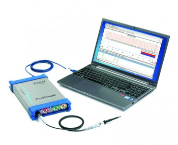 PicoScope 6000 Series USB oscilloscope offers up to 2 gigasamples of buffer memory,