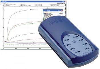 TC-08 temperature data logger and PicoLog software