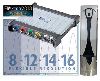 PicoScope 5000 Series - Elektra Awards Winner 2013