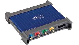 PicoScope 3000 Series high-performance 2-channel and 4-channel USB oscilloscopes