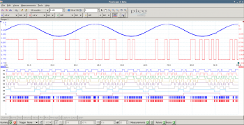 PicoScope for Linux MSO screenshot