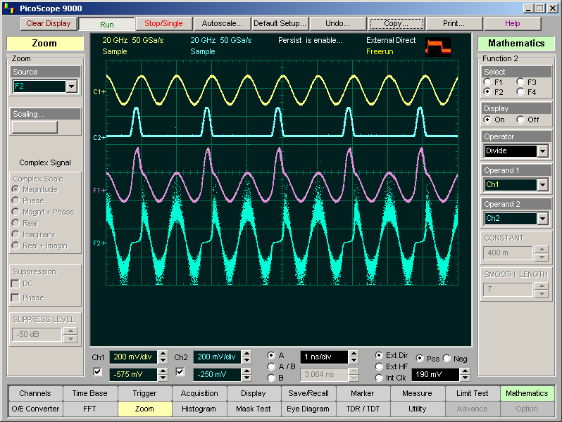 Sampling oscilloscope software with high end features sampling oscilloscope maths functions ccuart Image collections