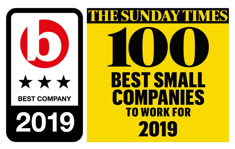 100 best small companies to work for 2018